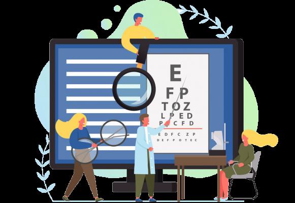 طراحی سایت فروشگاه اینترنتی عینک